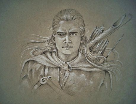 Legolas,what do your Elf eyes see? by ArtbyLily
