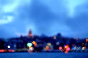 Lights of Istanbul by limeflowery
