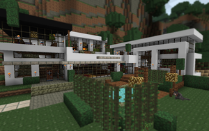 Modern House in Minecraft by Crocy