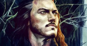 Bard the Bowman by KseniaParetsky