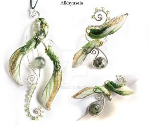 Martedi', Pendant and Ring by Alkhymeia