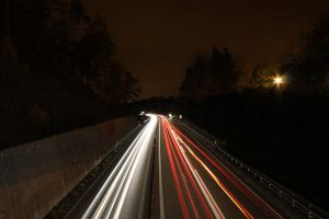 Long exposure of a highway by DesoXZ