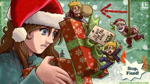 An Epic Chaos Christmas for Scar23 by LOOMcomics