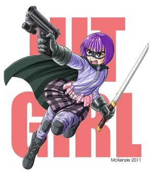 Hit Girl commission by RedShoulder