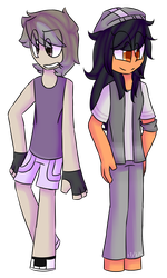 House_Owner and Aphmau - CSC (MCYT) by SorbetSosara