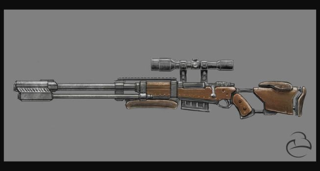 Rifle concept by Peet-B