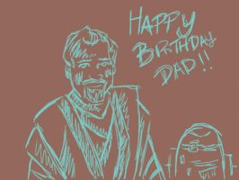 star wars birthday card for my dad :D by pascalscribbles