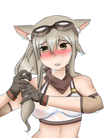 Lost Pause's Mascot  Wet Lily by toriegarcia89