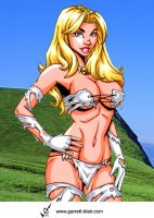 Savage Land Emma Frost by Mythical-Mommy