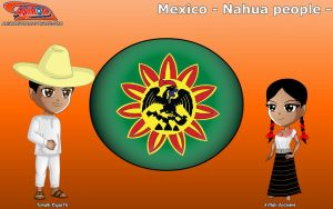 Chibi Nahua people, Mexico - Animondos - by Dougieus