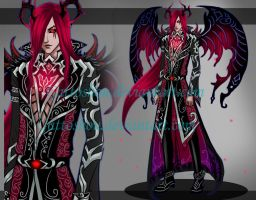 DEMON ADOPT 101 [ Auction ] [ CLOSED ] by GattoAdopts