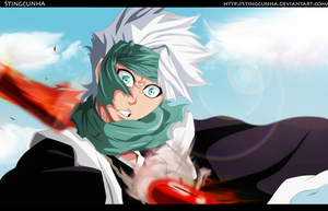 Bleach 550 - Hitsugaya Is Reached   COLOR by StingCunha
