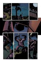 Dawn of the Planet of the Apes #2 pg2 Colors by JasonWordie