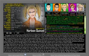 [Earth-27: Oracle Files] Harleen Quinzel (1/2) by Roysovitch
