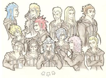 The Organization XIII by Vedenhaltia