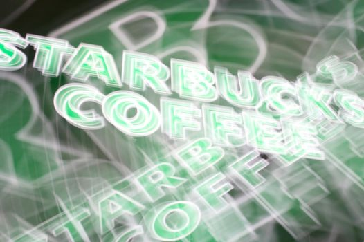 abstract starbucksy by pavlas