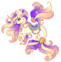 Merfae Auction : Spring Sunrise (CLOSED) by AlimareEmpire
