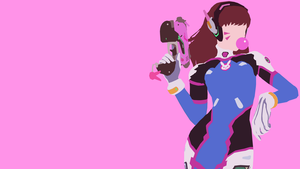 D.va from Overwatch by Reverendtundra