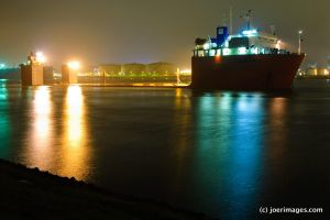 Transshelf At Night by joerimages