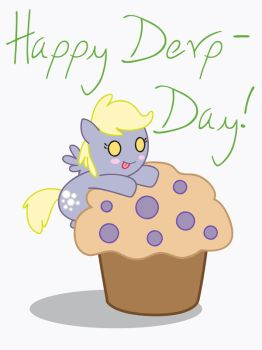 Happy Derp-Day! by FrauV8
