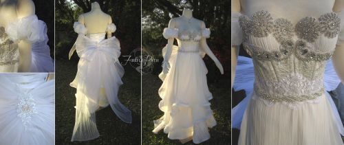 Sailor Moon: Princess Serenity Gown by Firefly-Path