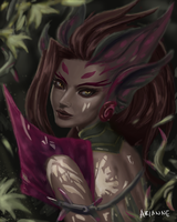Zyra, Rise of the Thorns by ninjathespian