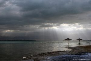 Dead Sea IV by Raphael-Ben-Dor