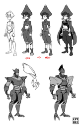 TOOLS Character Designs by CPTBee