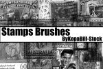 Stamps Brushes by KopaBill-Stock