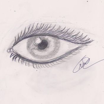 practice on the eye 1 by Mariks-Stock