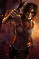 Tomb Raider Reborn by Aameeyur