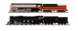 Milwaukee Road Steam Locomotives by Andrewk4