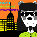 Quentin in the city-dwaters220 B-day picture by scifiguy9000