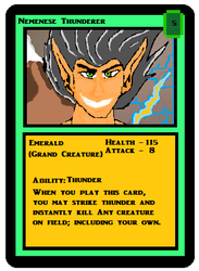 Nemenese Thunderer MS Paint Card by Stahlorn