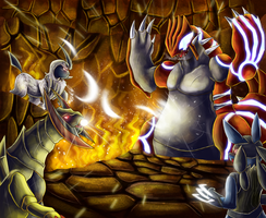 Groudon Challenge! by Deruuyo