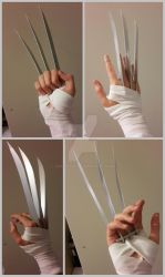 Wolverine claws by Phonexia