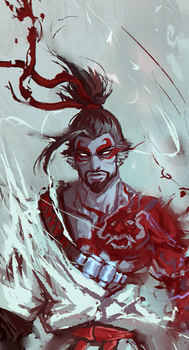 Demon Hanzo by moni158