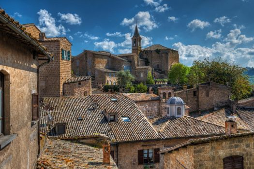 Orvieto Roofs by roman-gp
