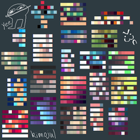 Colour Pallets by kimojul