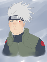Kakashi by kimikoloveskira