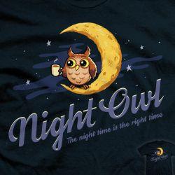 Night Time is the Right Time - tee by InfinityWave