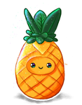 Cute Pineapple by Soph-art-lover