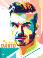 David Beckham Wpap by opparudy