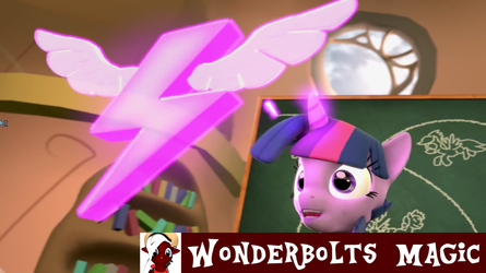 [DL] Wonderbolts Magic by The4thaggie