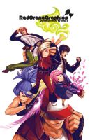 King of Fighters Poster by soaro