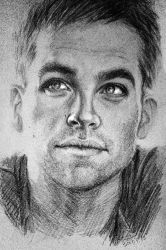 Chris Pine by LanaVdV