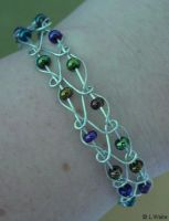 Twist and Beads by LWaite