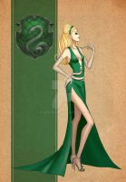 Slytherin Dress by AvieHudson