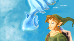 Link y Fay by Loftwing