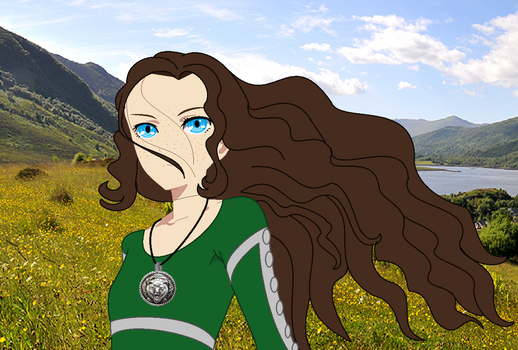 Wind in The Highlands - Isabelle and Mika Art by Season-the-Wiccan